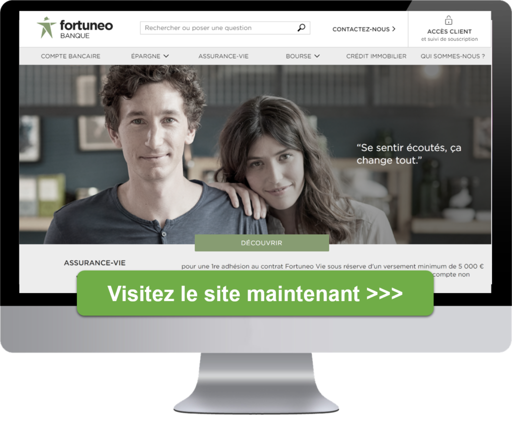 Fortuneo site internet